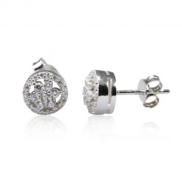 925 Silver Cubic Zirconia Earrings